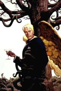 Lucifer 16 comic book cover by Christopher Moeller